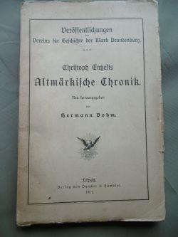 Christoph Entzelts Altmärkische Chronik (1911)